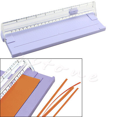 Portable A4 Precision Paper Cutter Card Art Trimmer Photo Cutting Machine Kit