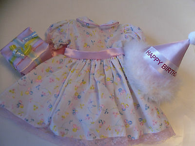 "Complete Birthday  Outfit  fits 18"" American Girl Doll - Many Pieces"