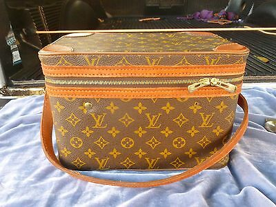 Vintage Louis Vuitton Vanity Case