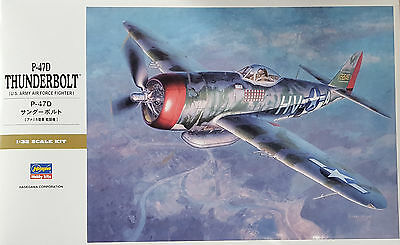 HASEGAWA® 08077 US Air Force Fighter P-47D Thunderbolt® in 1:32
