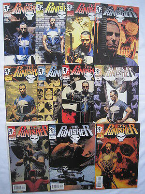 PUNISHER Vol 3 : COMPLETE 12 ISSUE 2000 MARVEL KNIGHTS SERIES by ENNIS & DILLON