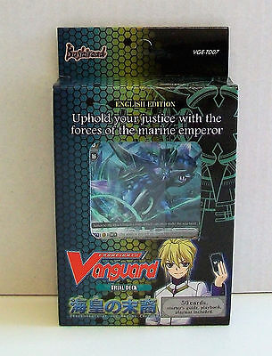 VANGUARD CARDFIGHT Descendants Of The Marine Emperor 50 Card Trial Deck VGE-TD07