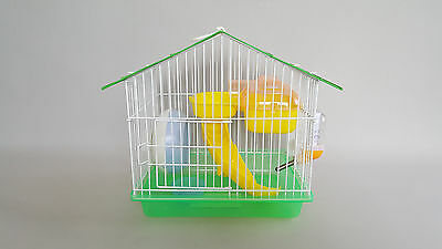 Hamster Cage Transporter Mice Mouse Bowl Wheel Water Bottle House Rodents Gerbil