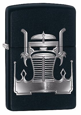 "Zippo ""crown Truck Grill"" Black Color Lighter ** New **"