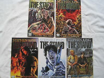 "STEPHEN KING : The STAND : ""SOUL SURVIVORS"" complete 5 issue series. MARVEL.2009"