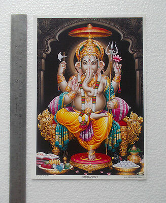 "LORD GANESHA SHREE GANESH - Normal Paper POSTER (6.5""x9"")"