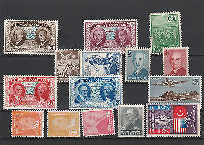 Turkey unused Postage stamps Los Right 2596