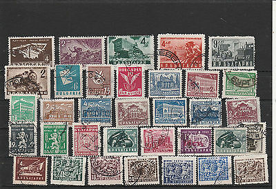 Bulgaria canceled Postage stamps Los Right 3013