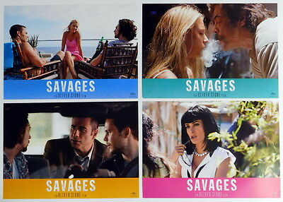 Blake Lively SAVAGES  lobby cards 4 original vintage stills 2012