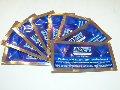 8 pouches (16 strips) Crest 3D Whitestrips Luxe Pro Teeth Whitening