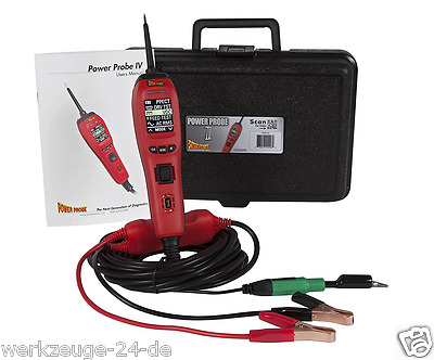 Power Probe PP401AS Multifunktions Diagnosegerät - power Probe IV Made in USA