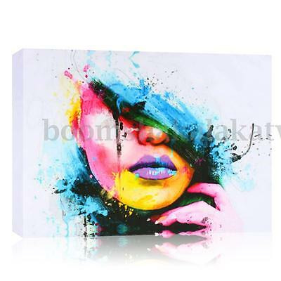 MODERN ABSTRACT GIRL WALL DECOR ART OIL PAINTING ON CANVAS no frame