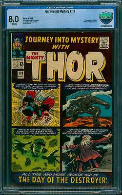 Journey into Mystery # 119  2nd appearance Destroyer  !  CBCS 8.0 scarce book !