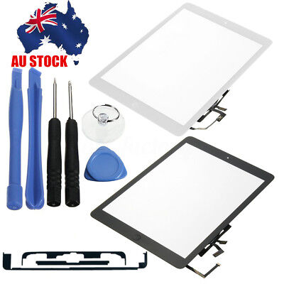 AU Touch Screen Digitizer Glass Lens w/Home Key Tool For iPad Air 5 A1474 A1475