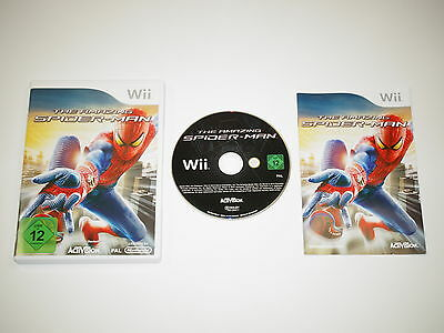 Nintendo Wii Spiel The Amazing Spider Man ~6417