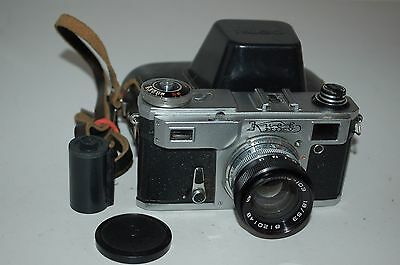 Kiev-4AM Vintage Soviet Rangefinder Camera and Case. 1981. No.8111447. UK Sale