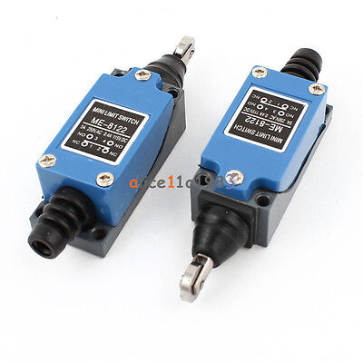 ME-8122 NO NC Momentary Parallel Roller Plunger Actuator Limit Switch
