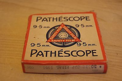 Vintage Boxed Pathescope reel & Film - The 1951 Cup Final