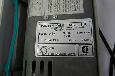 Martin Yale Model 1400 Premier Instant Letter Folder - 3 Sheet - Desktop