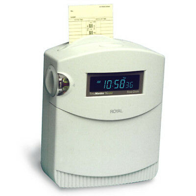 Royal TC100 Top Load Electronic Time Clock - 17045D