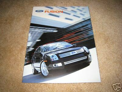 2006 Ford Fusion S SE SEL sales brochure dealer auto car literature