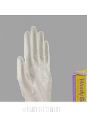 Handy Guard Synthetic Stretch Vinyl Gloves 100 Count [Select Size]