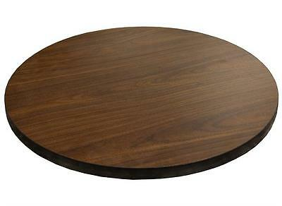 "New 48"" Round Table Top Walnut Laminate Restaurant Furniture Tables"