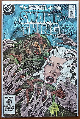 Swamp Thing #30..alan Moore..bissette/alcala..dc 1984 1St Print..vfn