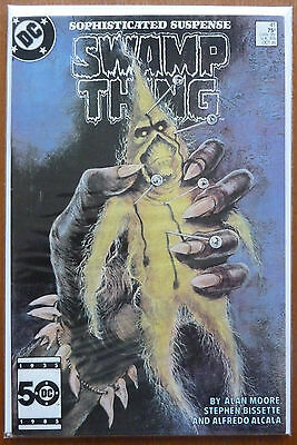 Swamp Thing #41..alan Moore..bissette/alcala..dc 1985 1St Print..vfn
