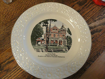 Old Roslyn Heights Missouri State Society-Daughters Of American Rev. Image Plate