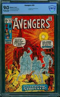 Avengers # 85  First Appearance the Squadron Supreme  !  CBCS 9.0 scarce book !