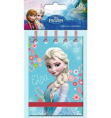 Lot 10 Carnet Reine Des Neiges Frozen 11 X 7.5 Cm Disney