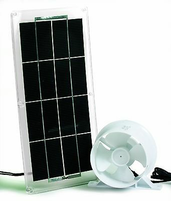 Camco 42162 Solar Panel and Fan for Refrigerator Vent New