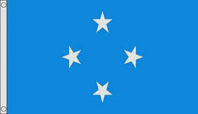 MICRONESIA FLAG 5' x 3' Oceania Flags Flag of Micronesia