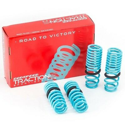 Godspeed(LS-TS-AA-0003) Traction-S™ Performance Lowering Springs
