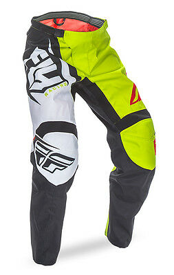 2017 Fly Racing F-16 Black/Lime Motocross MX Dirtbike Pants Size 28