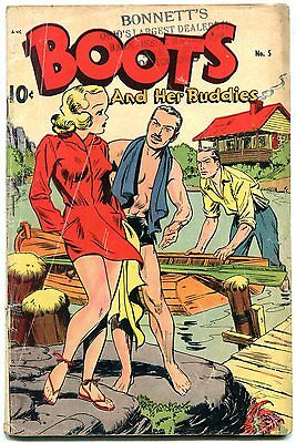 Boots and Her Buddies #5 1948-Golden Age- Headlight cover- G/VG