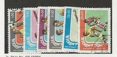 Mozambique  Postage Stamp, #607-612 Used, 1978 Sports