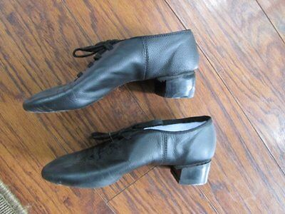 Rutherford Boys Irish Dance Shoes 6.5 Soft Reel Heel Leather