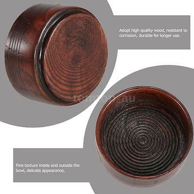 Useful Male Wooden Shaving Brush Bowl Shaving Mug Shave Cream Soap Cup Bowl H6E1