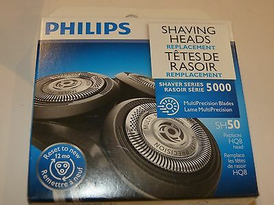 Philips Replacement Head For Series 5000 Shavers, SH50/52 New Sealed