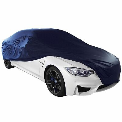 Cosmos Indoor Car Cover Breathable Stretch Supersoft Dustproof - Small Black
