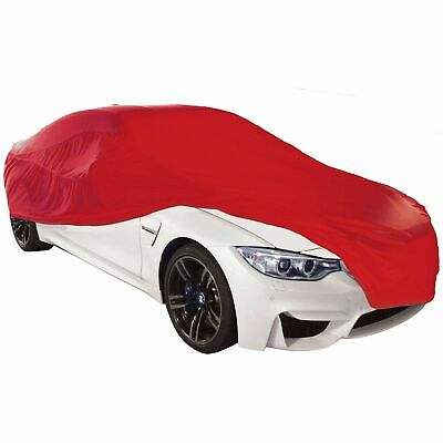 Cosmos Indoor Car Cover Breathable Stretch Supersoft Dustproof - Small Red