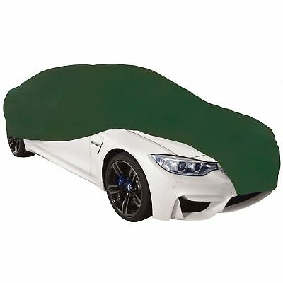 Cosmos Indoor Car Cover Breathable Stretch Supersoft Dustproof - Small Green
