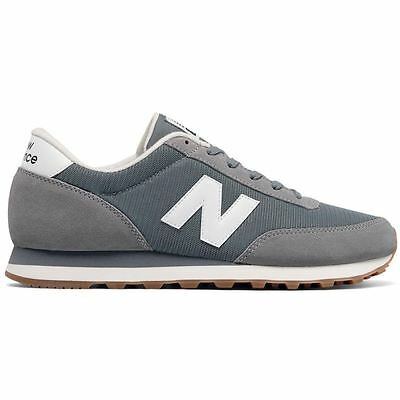 New Balance 501 Running Classics Grey White Mens Trainers