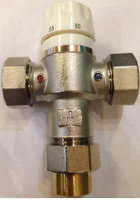 Reliable Blender / Mixing Valve For Underfloor Heating 22mm Compression