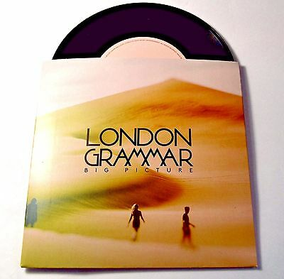 """London Grammar - Big Picture - NEW 7"""" Vinyl Single - Limited Edition Number 0765"""
