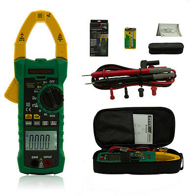 MASTECH MS2115A RMS Professional Counts Digital Current Clamp Multi Meter