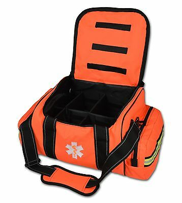 Lightning X Large EMT Medic First Responder EMS Trauma Jump Bag w/ Dividers 30O