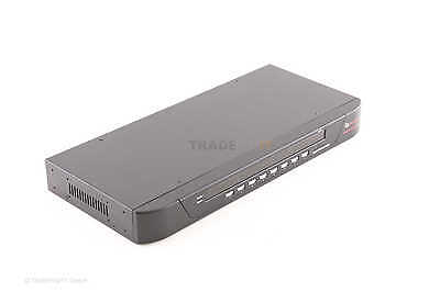 Avocent 8SV1000-202 SwitchView 1000 8 Port KVM Switch OSD